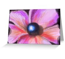 Pearl Flower Greeting Card