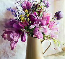 Flowers At The Post Office by Susie Peek