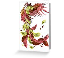 Light Phoenix Greeting Card