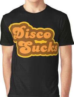 Disco Sucks - Retro 70s - Logo Graphic T-Shirt