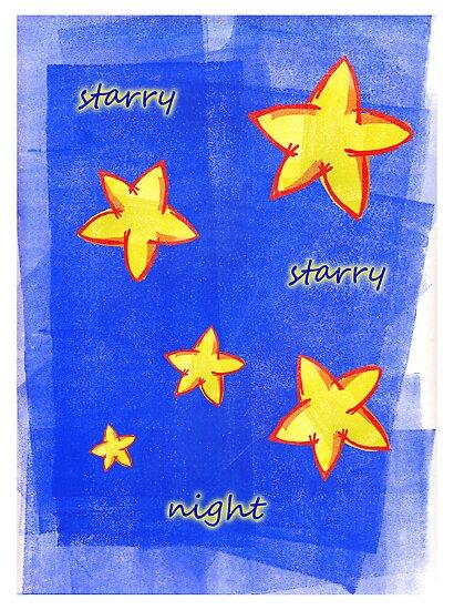 Starry Starry Night by fliberjit