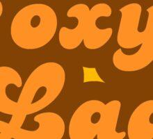 Foxy Lady - Retro 70s - Logo Sticker