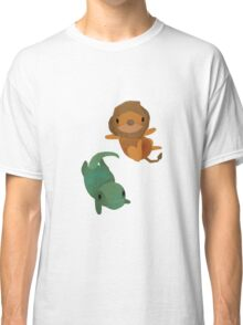 Lion and Dinosaur <3 Classic T-Shirt