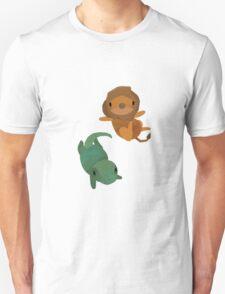 Lion and Dinosaur <3 Unisex T-Shirt