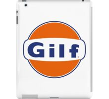 """GILF"" - Gulf Gas Parody - Grandmother I Would Like to F&@K iPad Case/Skin"