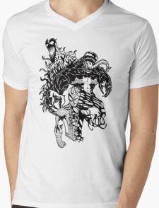 Spider-Man Venom and Carnage design Mens V-Neck T-Shirt