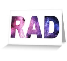 Starry Is R A D  Greeting Card