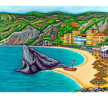 Colours of Monterosso Photographic Print