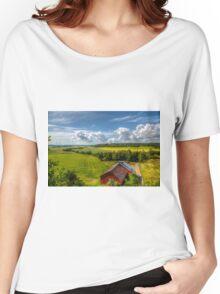 Rural Landscape Women's Relaxed Fit T-Shirt