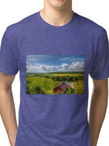 Rural Landscape Tri-blend T-Shirt