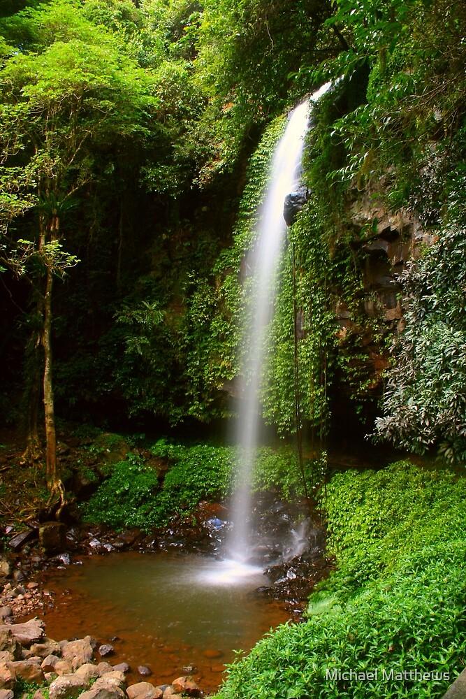 Crystal Shower Falls by Michael Matthews