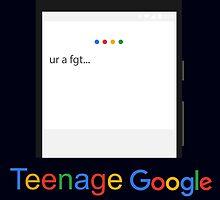 Teenage Google by Aljoscha Kirschner