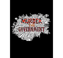 MURDER THE GOVERNMENT - NOFX Photographic Print