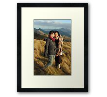 Kerry and Lin in Color Framed Print