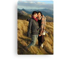 Kerry and Lin in Color Canvas Print