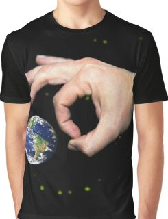 Intergalactic marbles (earth stationary) Graphic T-Shirt