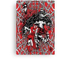 Spider-Man venom in colour Canvas Print