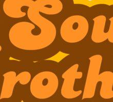 Soul Brother - Retro 70s - Logo Sticker