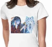 Wolf Clan Ceremony: The Ritual Womens Fitted T-Shirt