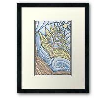 Living Web Framed Print