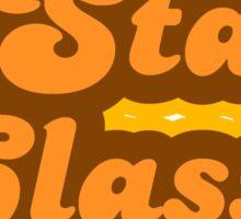Stay Classy - Retro 70s - Logo Sticker