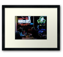 People at the Pub Framed Print