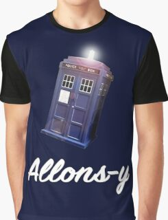 """Allons-y!"" Public Call Box. Graphic T-Shirt"