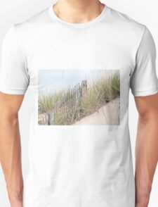 Fence in the sand dune T-Shirt