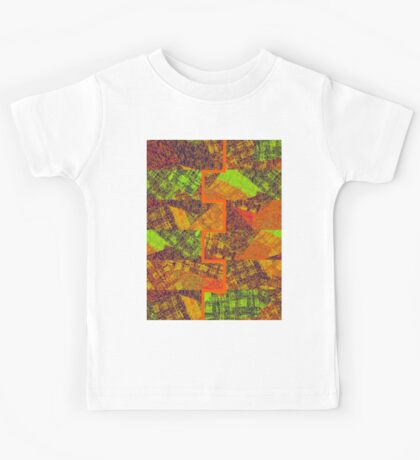 0178 Abstract Thought Kids Tee