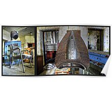 Diptych- Norwich State Hospital Poster