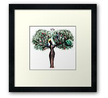 The righteous will flourish Framed Print