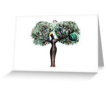 The righteous will flourish Greeting Card