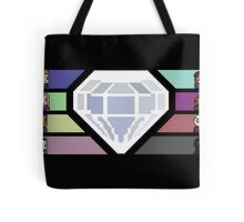 Pixel White Diamond | Community Tote Bag