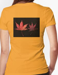 Autumn Foliage Womens Fitted T-Shirt
