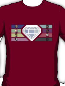Pixel White Diamond | Community T-Shirt