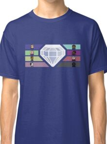 Pixel White Diamond | Community Classic T-Shirt