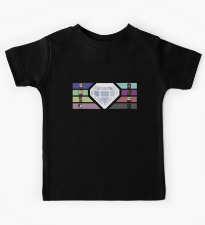 Pixel White Diamond | Community Kids Tee