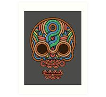 Celtic Skull Art Print