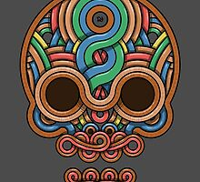 Celtic Skull by crabro