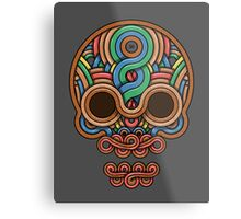 Celtic Skull Metal Print