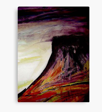 dusk..... table peak Canvas Print