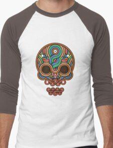 Celtic Skull Men's Baseball ¾ T-Shirt