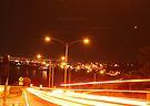 neon nights 003 by Karl David Hill