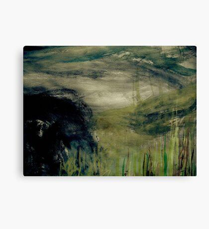 dusk mist... upper valley Canvas Print