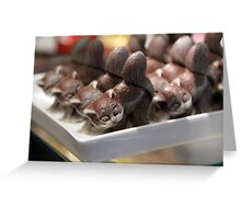 Chocolate & More Cats Greeting Card