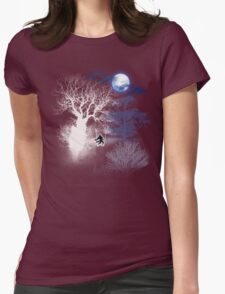 HOWLING MOON Womens Fitted T-Shirt