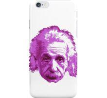 Albert Einstein - Theoretical Physicist - Pink iPhone Case/Skin