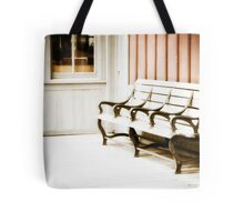 Waiting for the Past Tote Bag