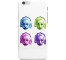 Albert Einstein - Theoretical Physicist - Rainbow iPhone Case/Skin