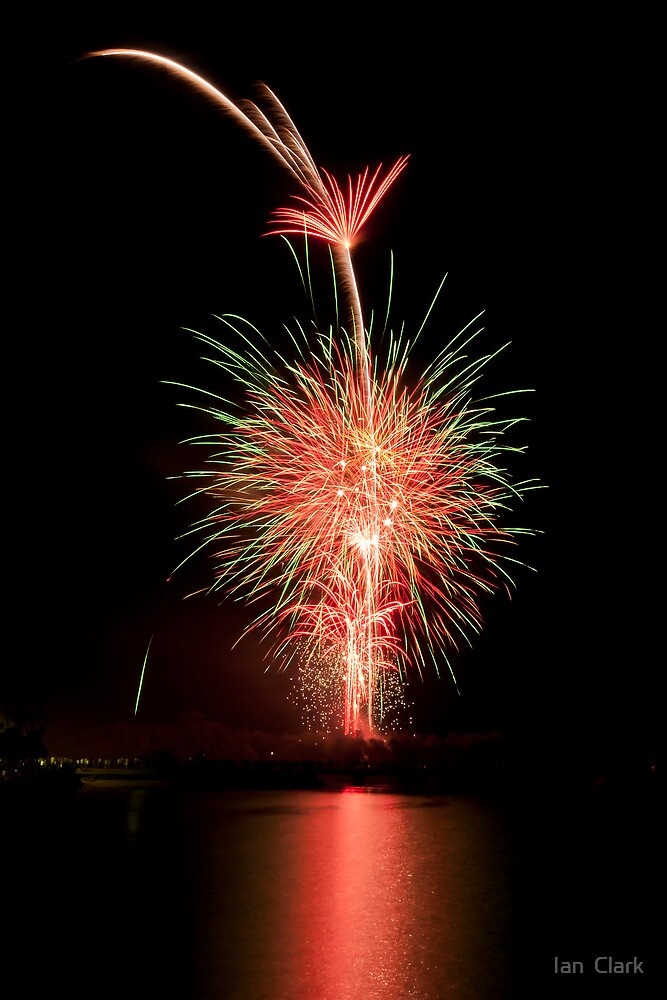 Fireworks gone wrong by Ian  Clark